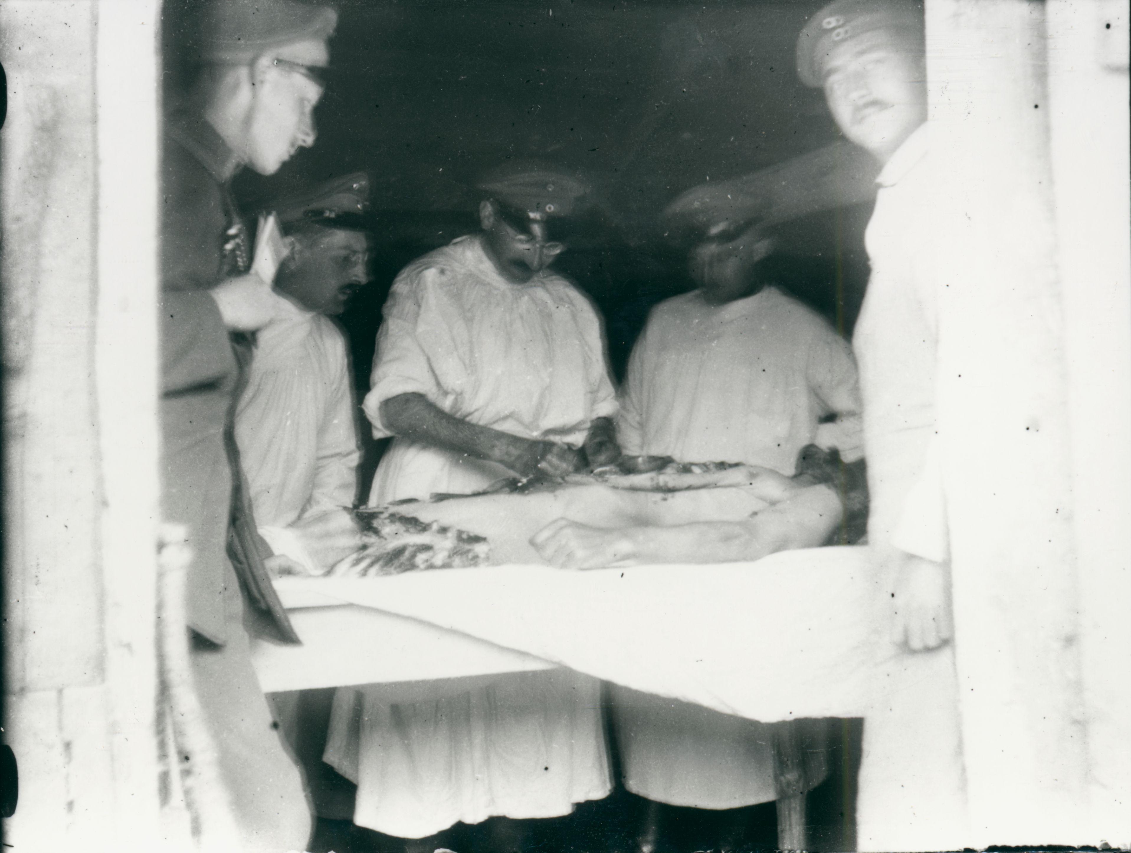 12. november 1915. IR84 ved Moulin: Sanitetstjeneste