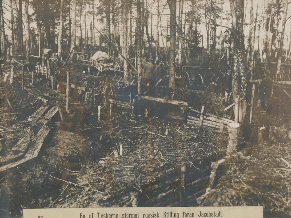 9. december 1914. Hemming Skov: Det gik fra den ene skyttegrav til den næste