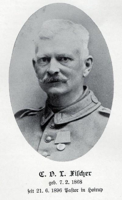 27. februar 1915. Pastor Fischer fra Højrup død af sine sår