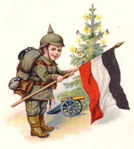 """24. december 1914. """"Hjem til moder og æbleskiver!"""""""