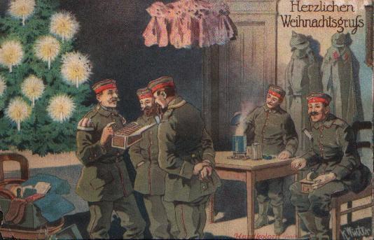 24. december 1918. Trist jul på kasernen i Lübeck