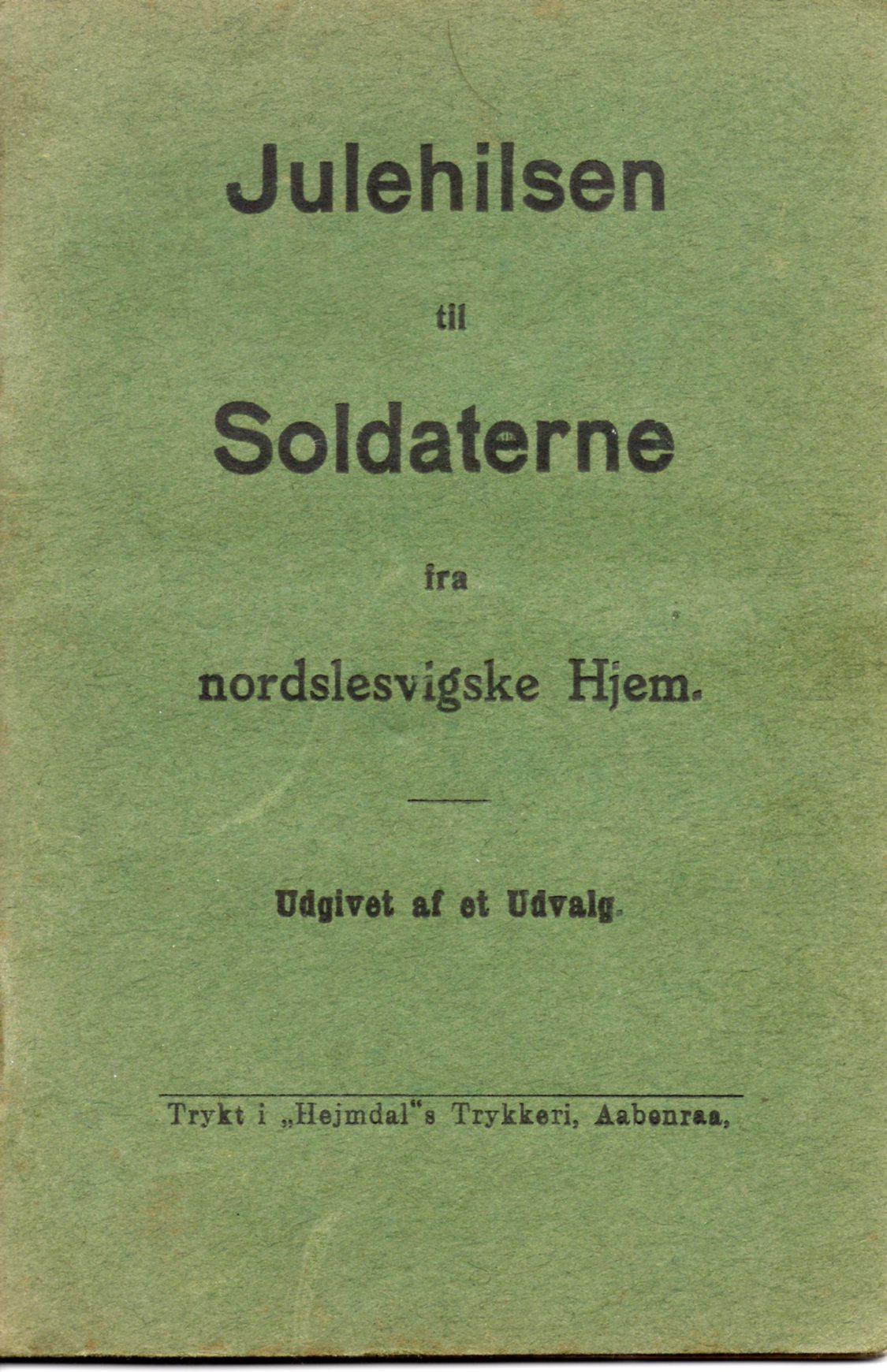 """21. december 1914. """"Jeg var ene om at være dansker (Knacker)"""""""