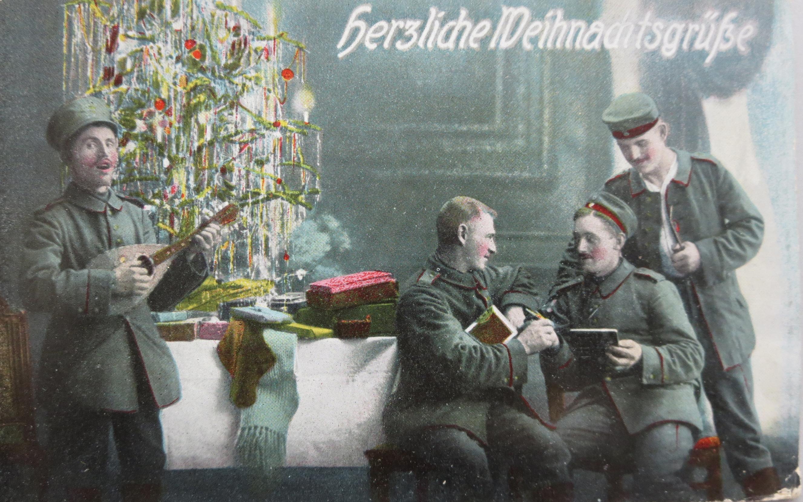 25. december 1915. Slagsmål til jul