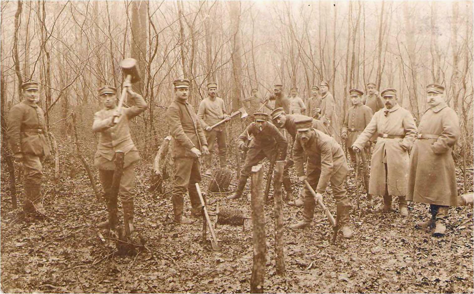 5. marts 1916. Pigtråd ved Barry-au-Bac