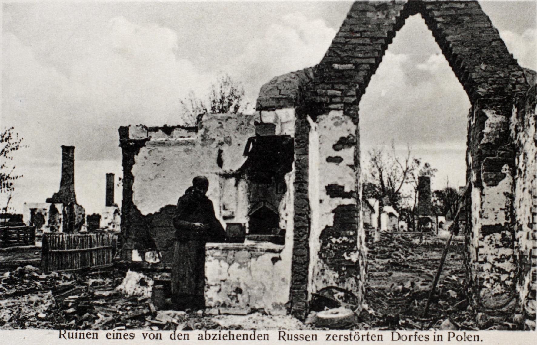 28. december 1914. Hemming Skov i beredskab i Chencitza