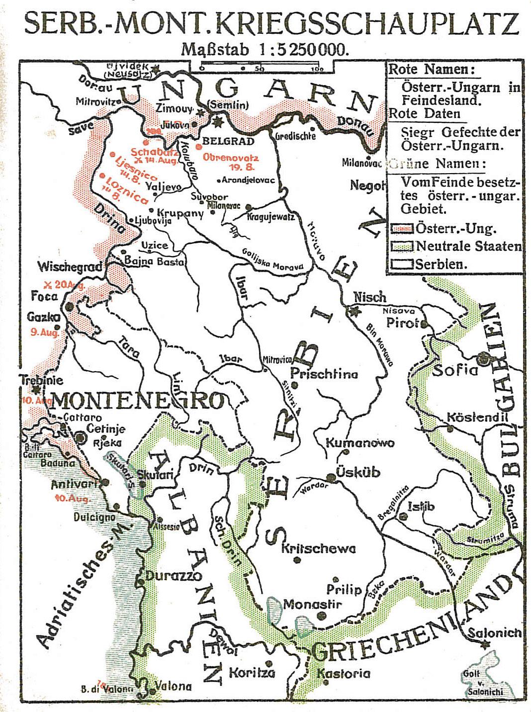 9. november 1916. Hans Hostrup på vej til Makedonien