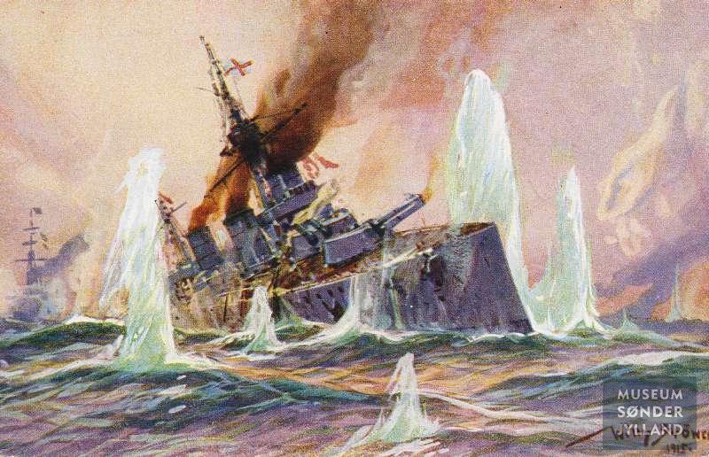 24. januar 1915. Søslaget ved Dogger Banke