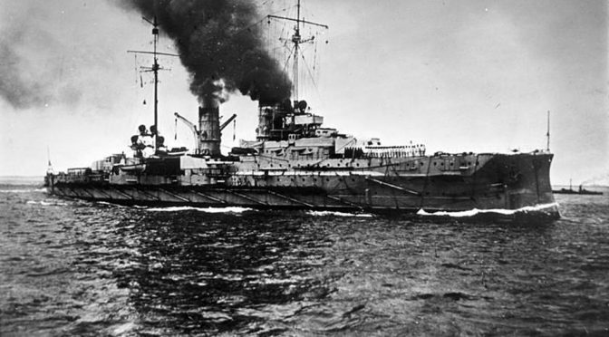 24. januar 1915. Sorg i Aabenraa: Gik sønderjyder ned med SMS Blücher?