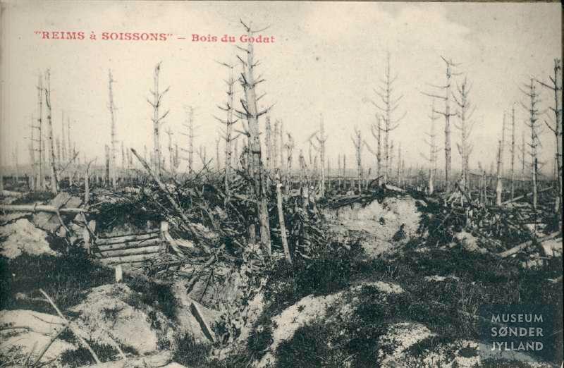 """1. oktober 1916. """"Springende som anskudte harer …"""" I forreste linje ved Somme"""