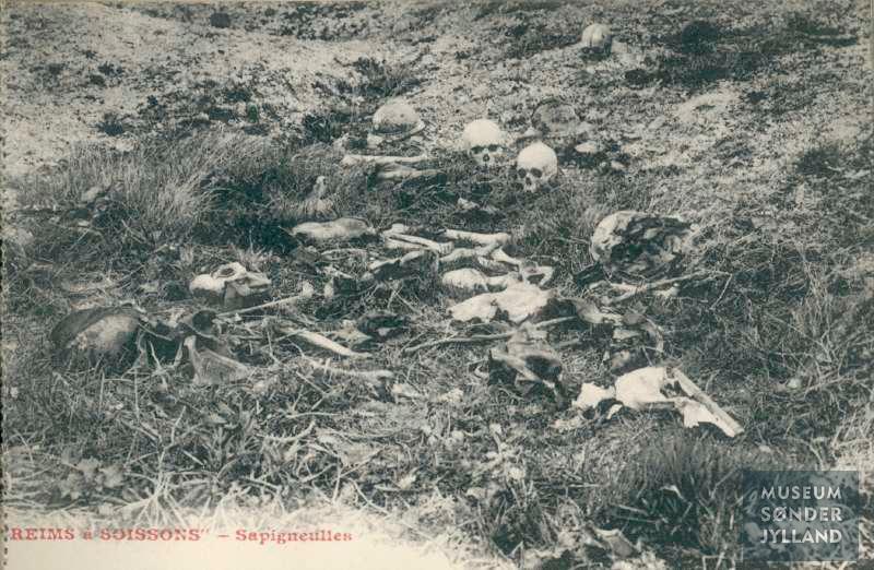 """25. september 1916. Natligt overfald på fransk forpost: """"Vi var snart indviklet i den mest forbitrede nævekamp …"""""""