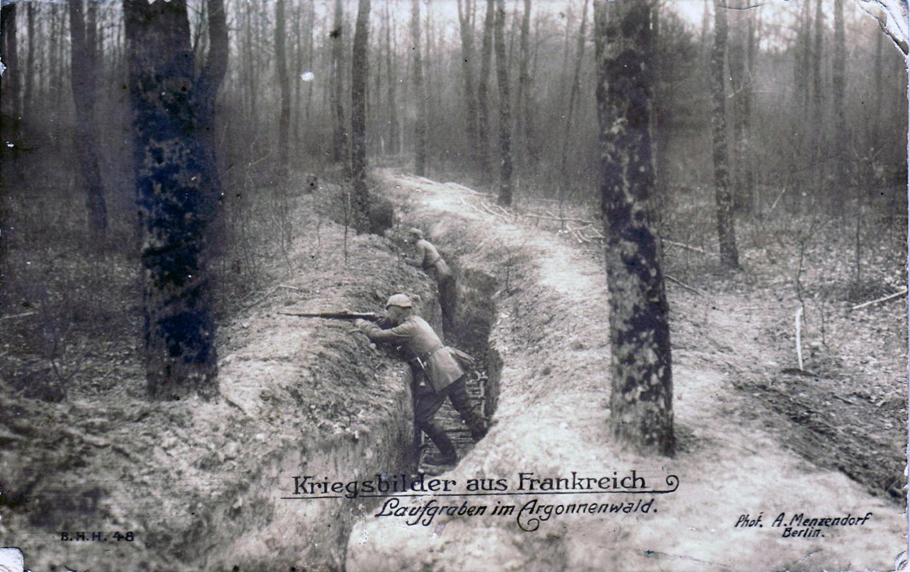 21. januar 1915. Nat ved Hartmannsweilerkopf