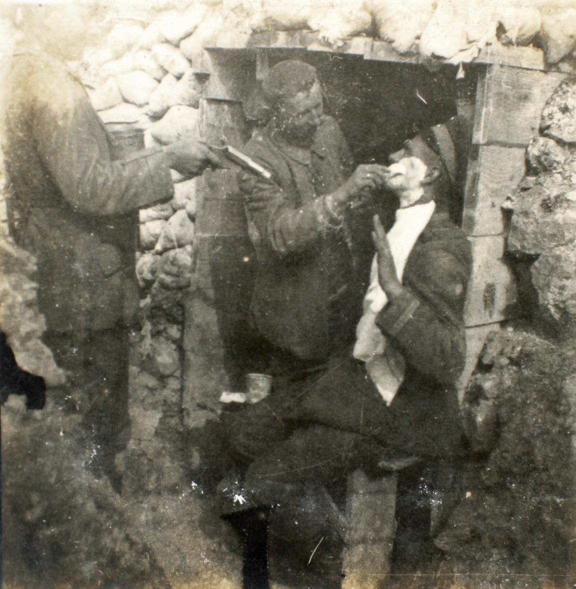 """18. juli 1915. Et lyst syn på tilværelsen: """"Hvad nytter det at græde?"""""""