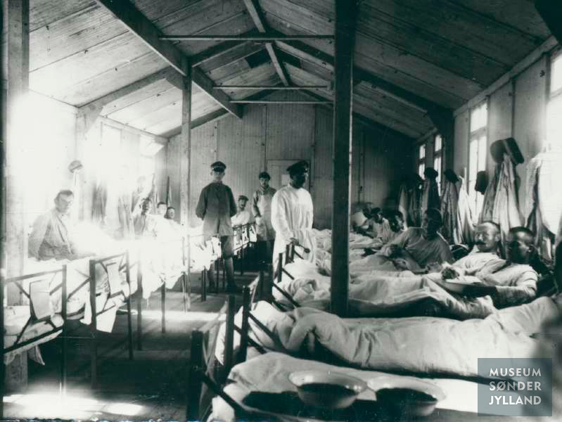 24. januar 1915. Hemming Skov på lazarettet i Alexandrovo