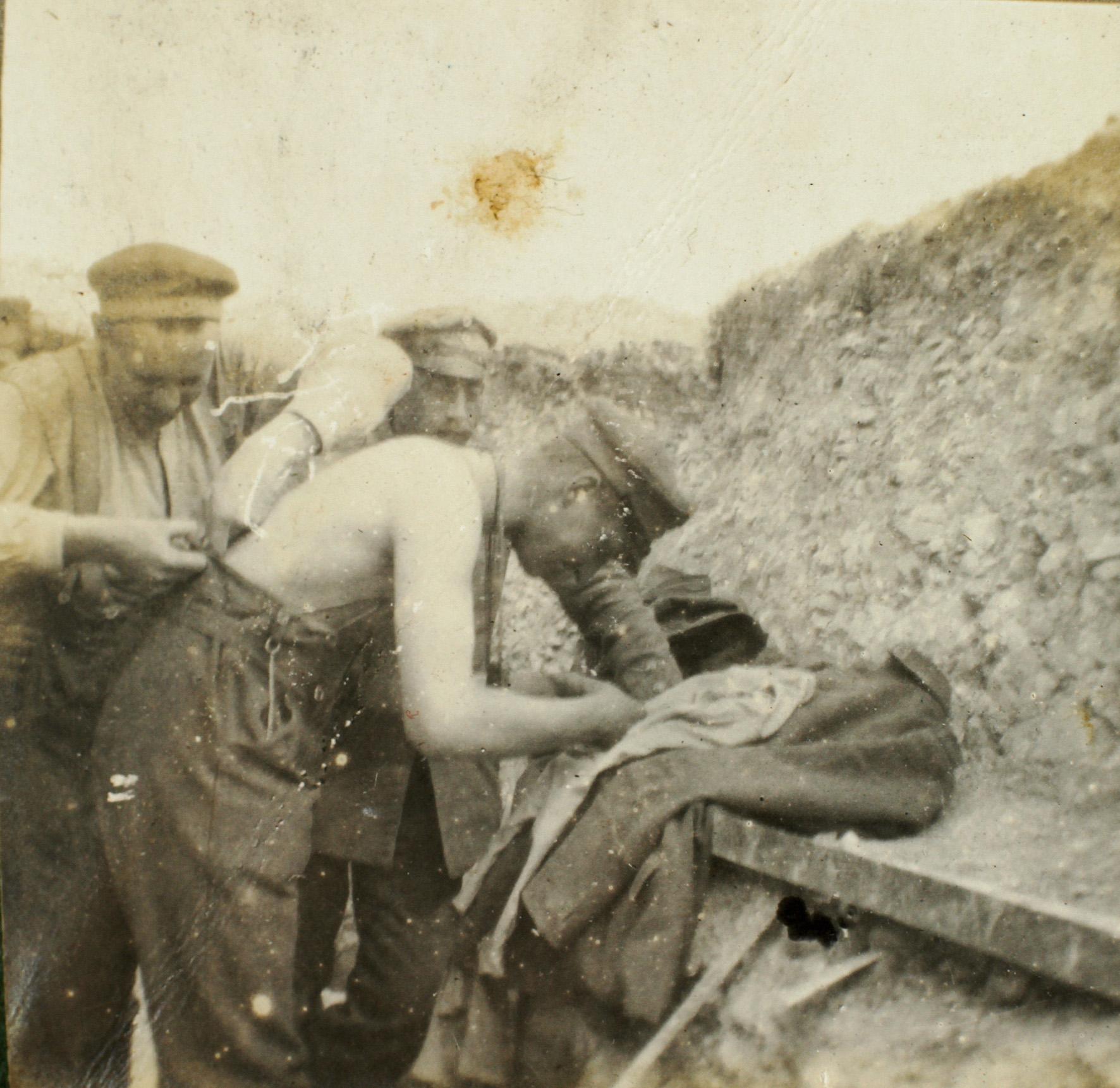 29. marts 1916. Daglig rutine i skyttegravene i Champagne