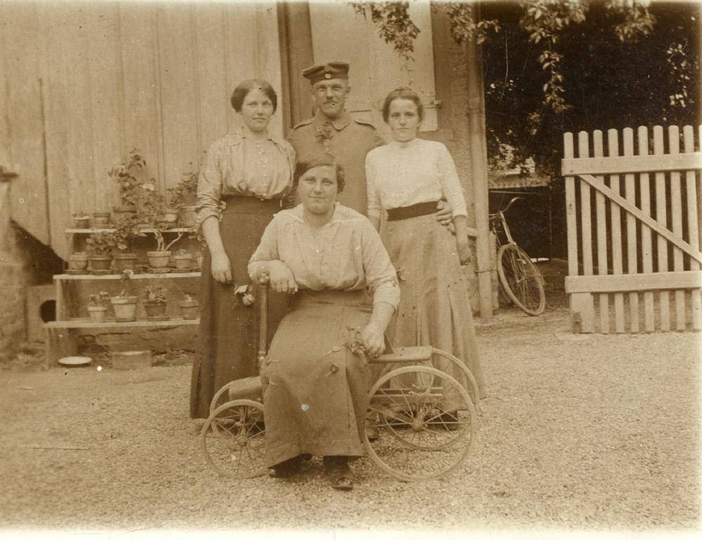 18. januar 1915. En køn, ung fransk pige på 17 med hjem til Sønderjylland?