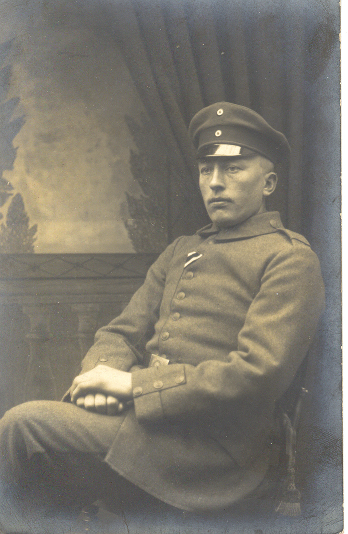 31. januar 1915. Såret ved Soissons – bestjålet af en Feldwebel på lazarettet