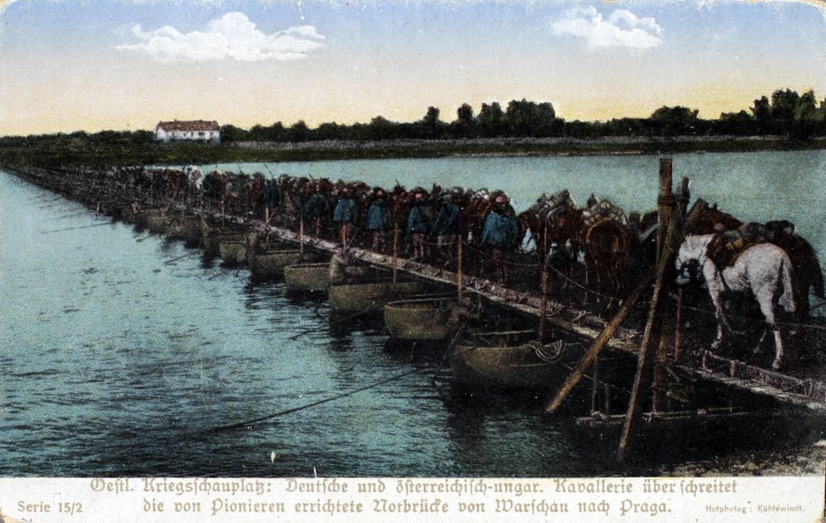 8. oktober 1914. Hemming Skov i kamp foran Warzawa