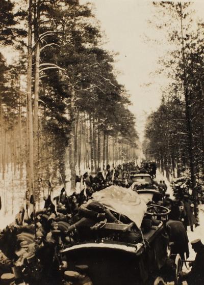 """8. februar 1915 – Iver Henningsen: """"Alt var demoleret"""""""