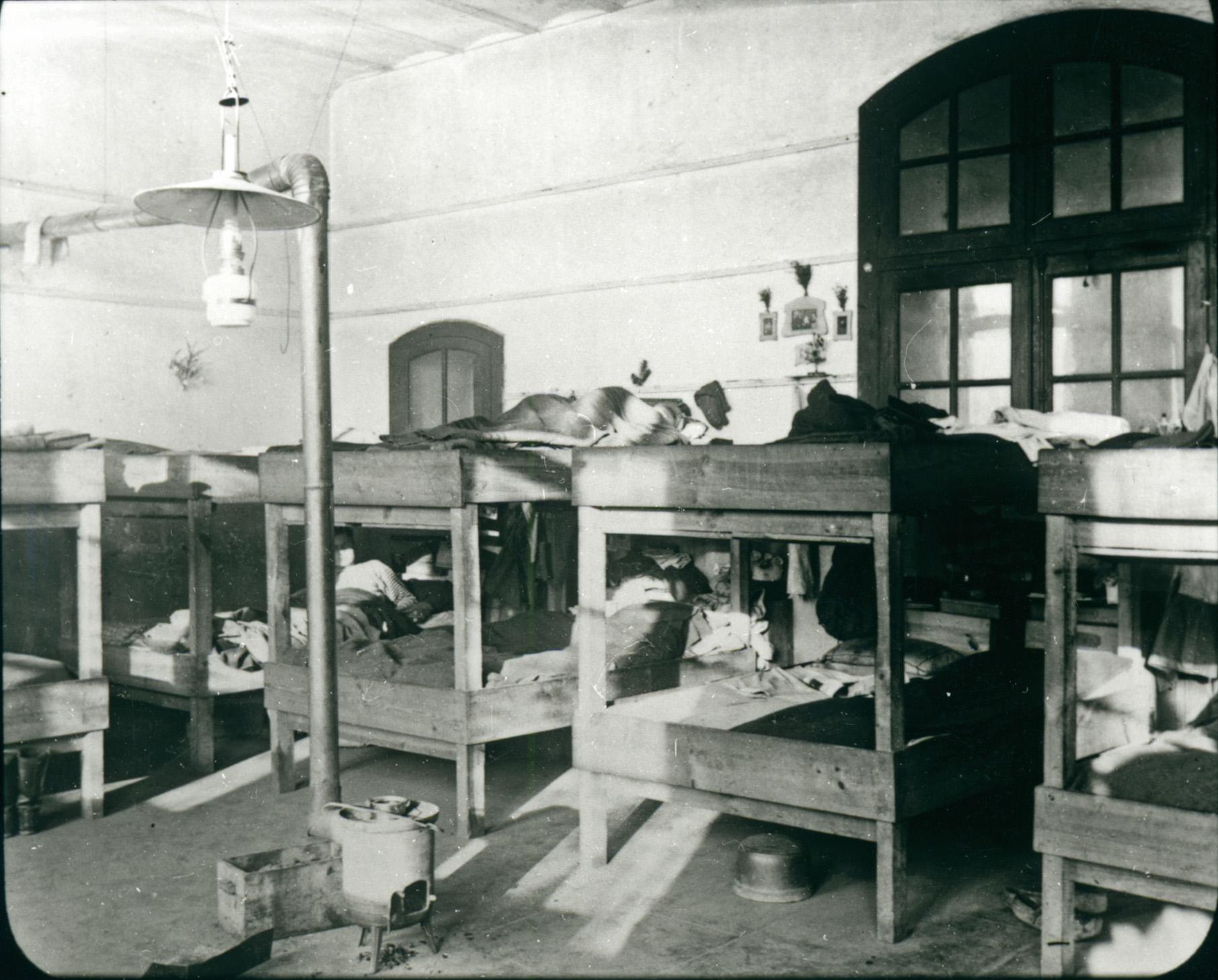 """6. februar 1916. Brev fra fangenskab: """"Sløvhed og interesseløshed …"""""""