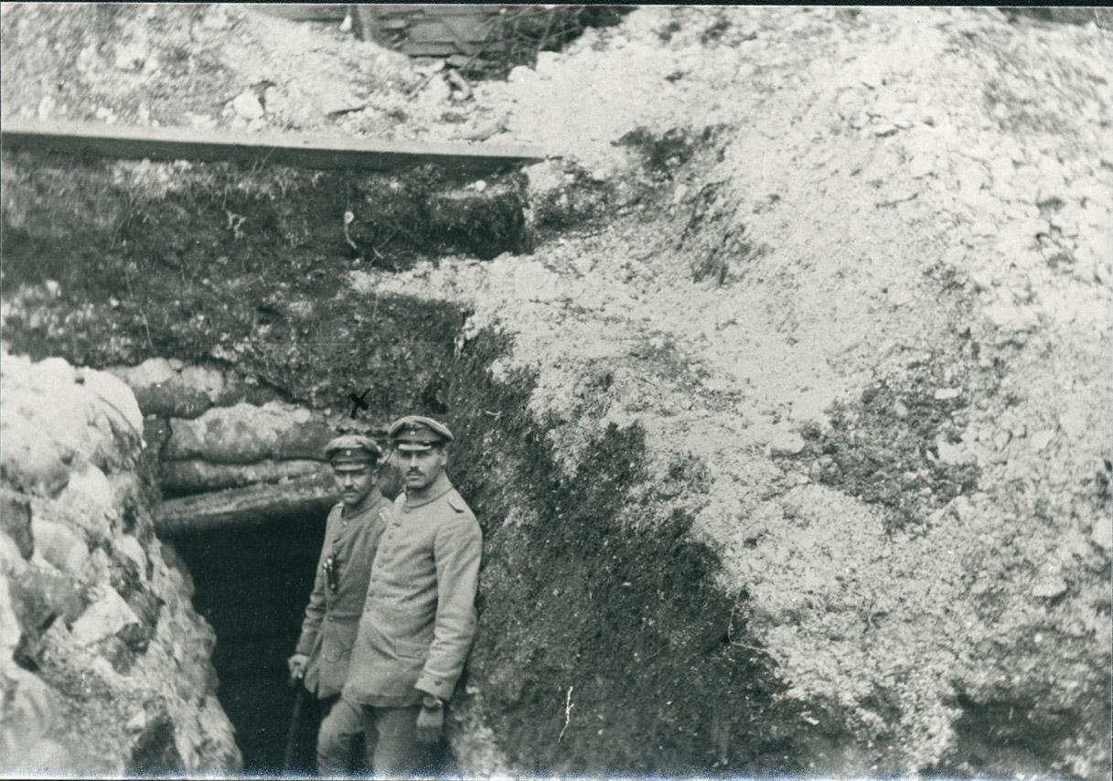 16. januar 1916. Gode, nye stillinger ved Loretto