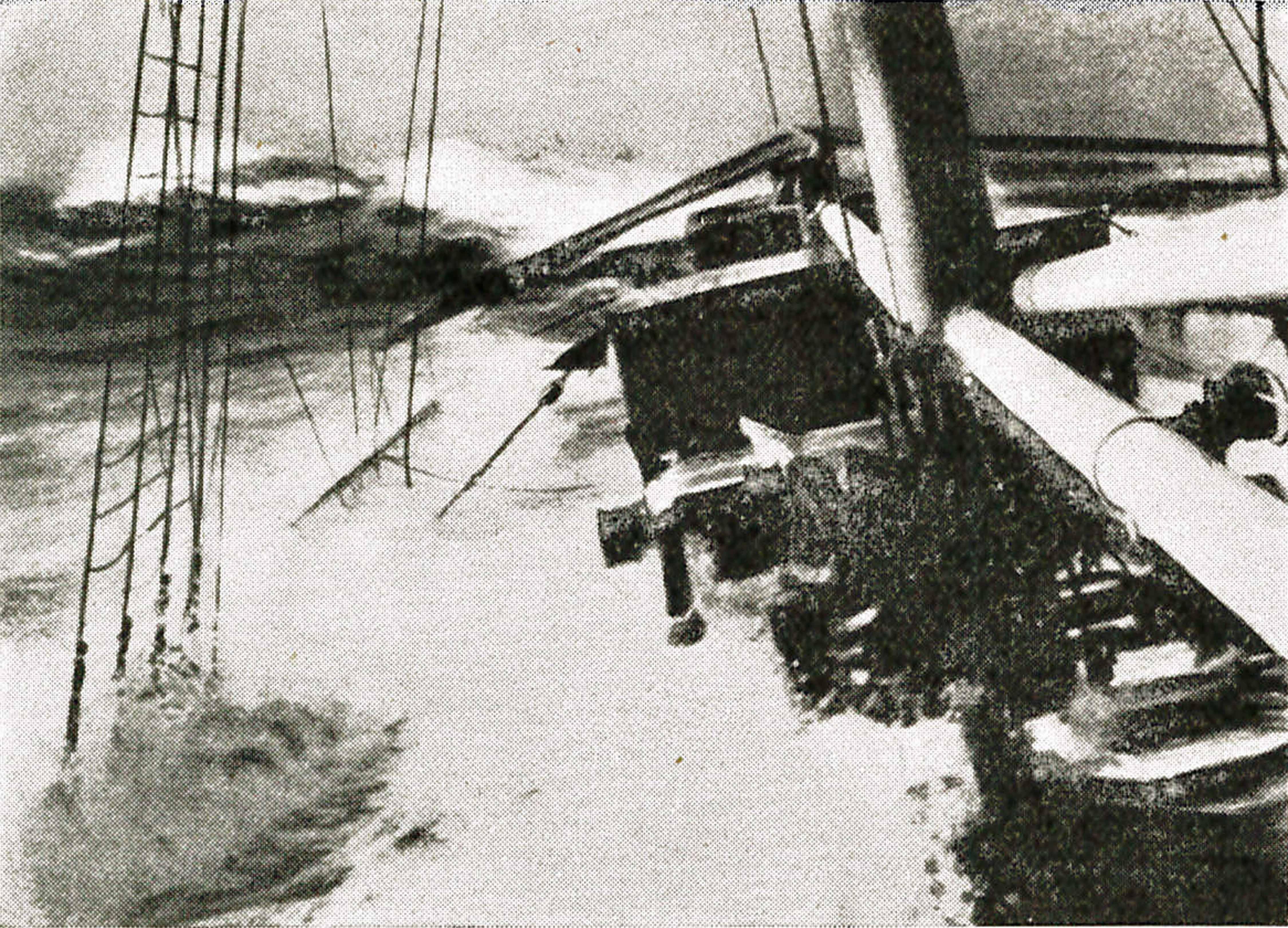 5. april 1915. Blokadebryderen: Sørøvere i Det indiske Ocean?