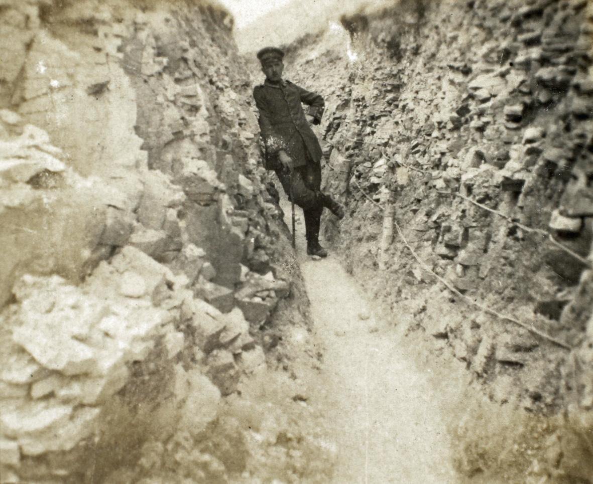 27. marts 1916. Skyttegravsliv i Champagne