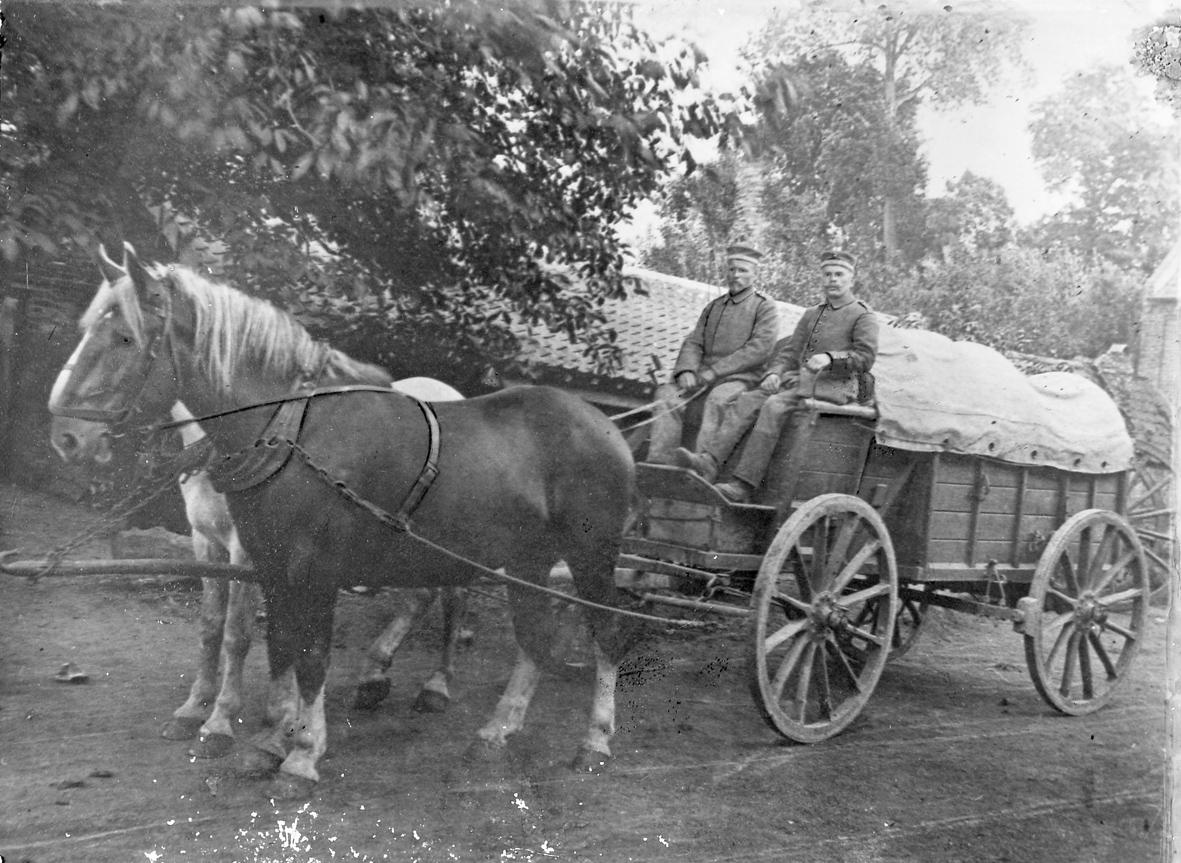 27. marts 1915. Infanteriregiment 84 rykker til Champagne