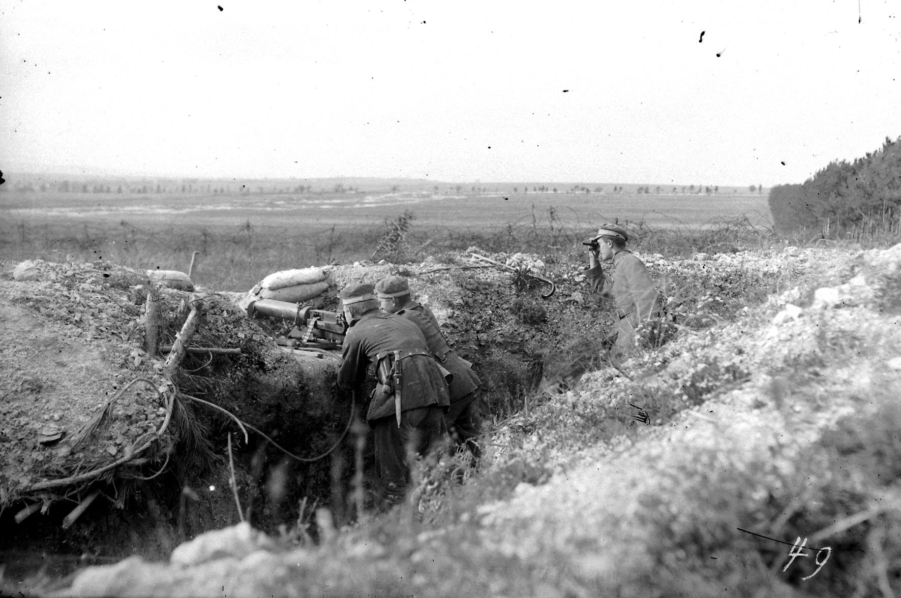 19. november 1915. IR84 ved Moulin: Kompagnitjeneste