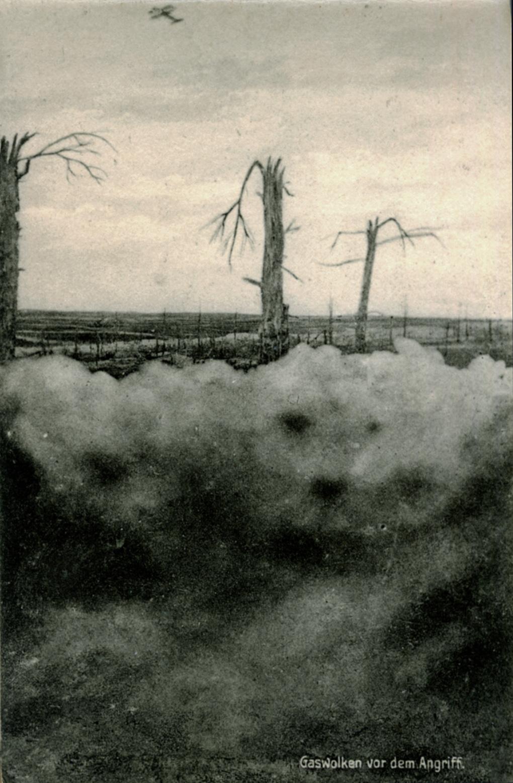 22. oktober 1915. Gas …?