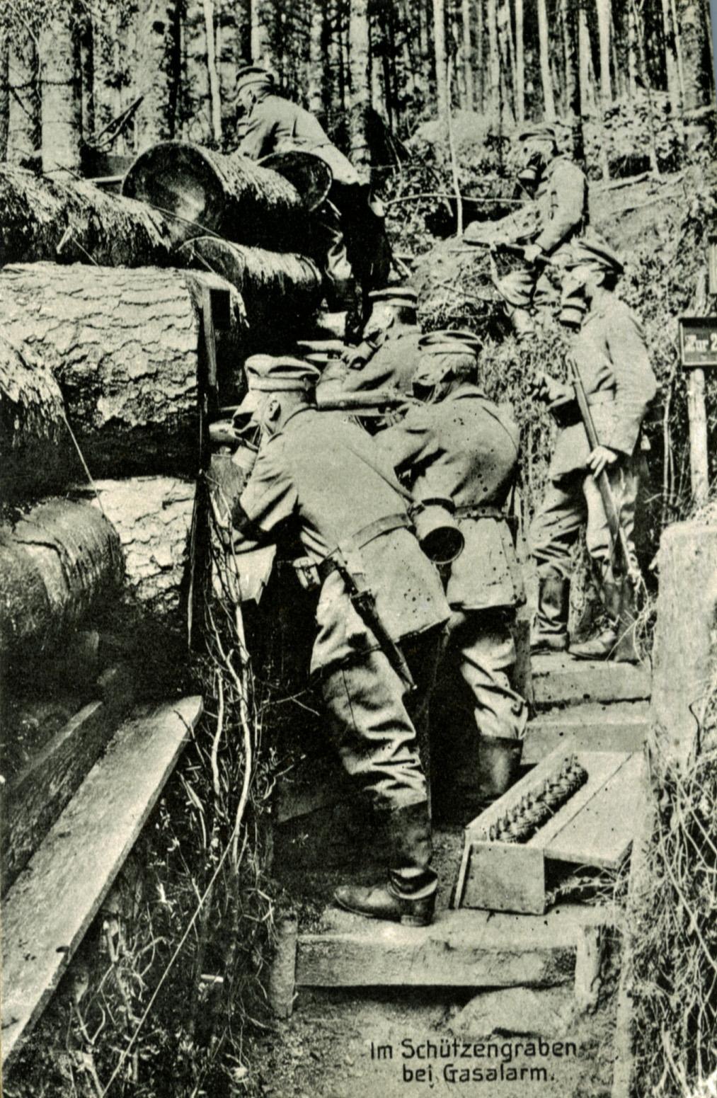 29. juni 1915. Gemene slyngelstreger og fældede træer