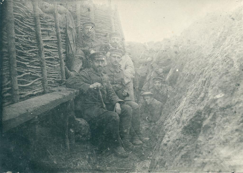 23. december 1915. Beordret til angreb af en helt grøn Fændrik