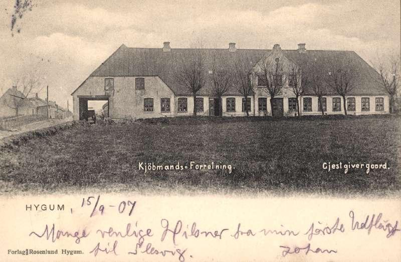 22. maj 1915. Vagtmand amok: Skarpe skud i Harreby ved Fole