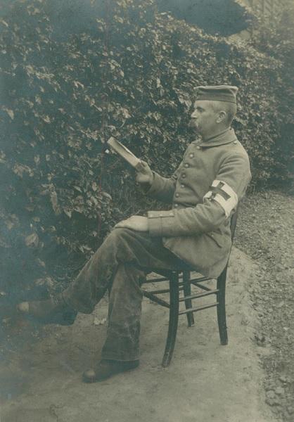 """15. december 1917 – Peter Knudsen: """"Granaterne slog ned rundt omkring os"""""""