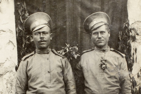 """21. juli 1917. Russer skudt ved grænsen. Enkefru Røgind: """"Den elendige Soldat"""""""