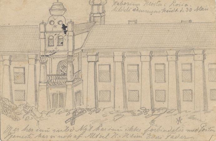 """24. maj 1915 – Iver Henningsen:  """"á la russisk svineri"""""""