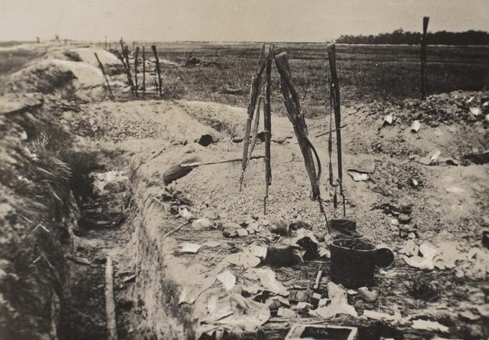 """31. oktober 1915. Østfronten:  """"Af de 30 Mand fra Flensborg, der var kommen til Kompagniet, var de 17 nu borte."""""""