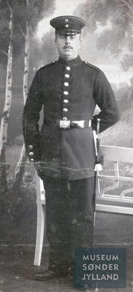 Peter Jørgensen (1887-1915) Randsbjerg, Tandslet