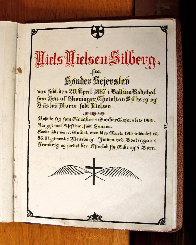 Bog over de faldne fra Emmerlev