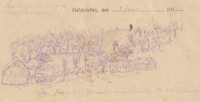 """Foredrag 9. november: """"Sanitetssoldat på Østfronten 1915"""""""