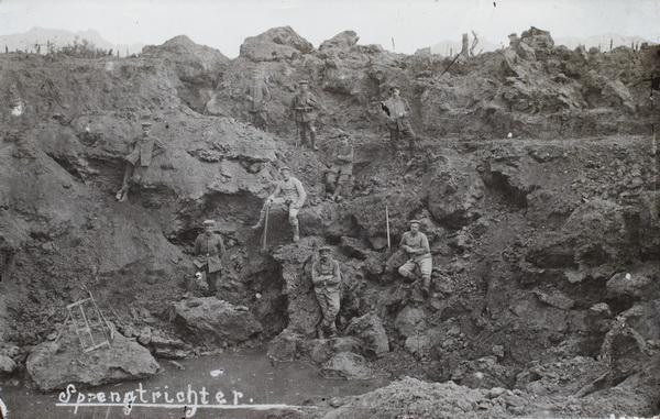 """4. juli 1915 – En 84´er: """"de store Sprængninger i Champagne"""""""