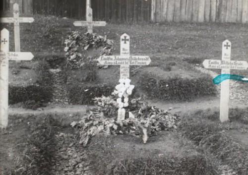 31. juli 1915 – Fra billedsamlingen: Johannes Hildebrandts grav