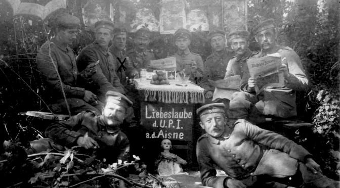 """5. oktober 1915 – Thyge Thygesen: """"… ja, det er også Døden!"""""""