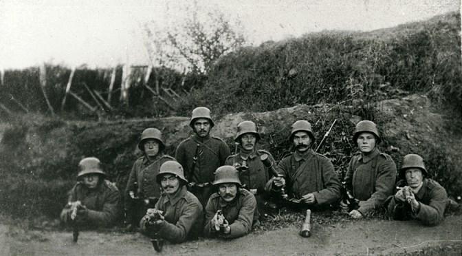 Foredrag torsdag den 21. februar i Galten: Frontliv, faneflugt og fangelejr 1914-1918