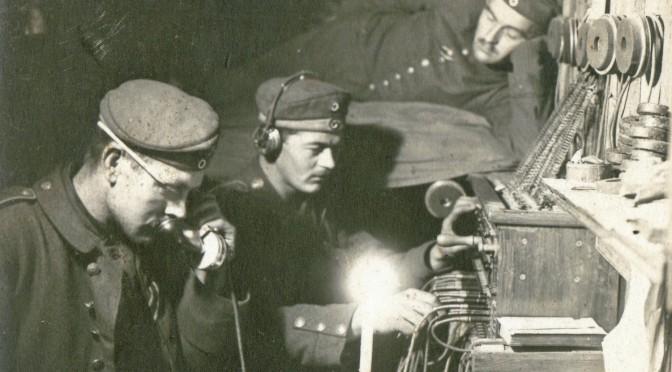 14. november 1915. IR84 ved Moulin: Signaltjeneste