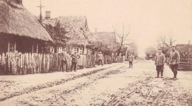 """9. februar 1916. Russisk landsby """"… endnu værre end i Mjøls!"""""""