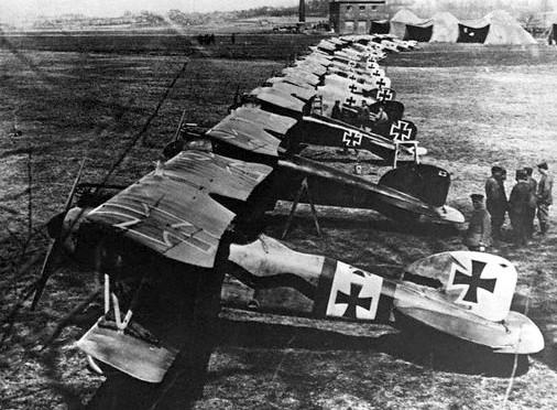 31. december 1917 – Tønder Luftskibsbase: To Albatros D.III ankommer