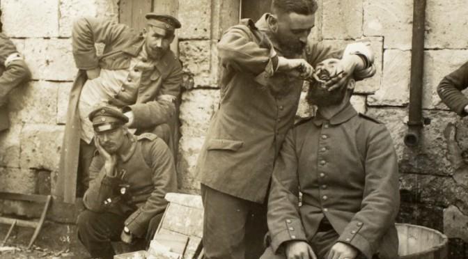4. maj 1918. Sønderjysk såret behandles af sønderjysk læge