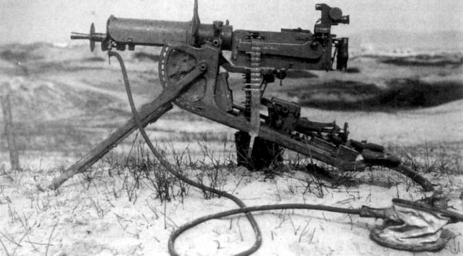 Tema: Tunge maskingeværer i Første Verdenskrig