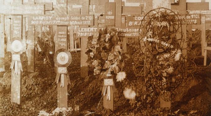 Kort over kirkegårde med faldne danskere i allieret tjeneste