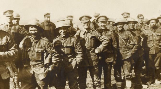 27. december 1917. En engelsk overløber ved Passchendaele
